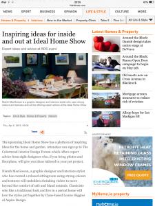 Irish Times April 22nd 2015