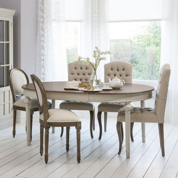 3-Frank-Hudson-Maison-Cool-Grey-Dining-Set-Round-Extending table 5055299491232