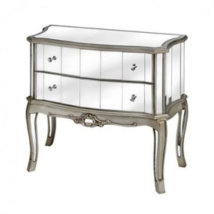 Argente Mirrored 2 Drw Chest 13012