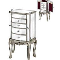 Argente Mirrored Jewellry Cabinet 13017