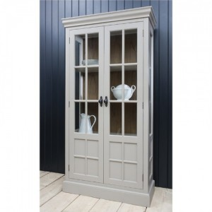 Casa Display Grey Cabinet 5055299491638