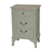 Orchard 3 Drawer bedside Table 15106
