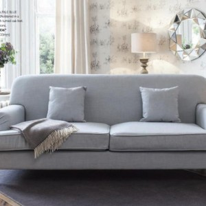 Sienna 3 Seat Sofa Pale Blue product code 5055299464632
