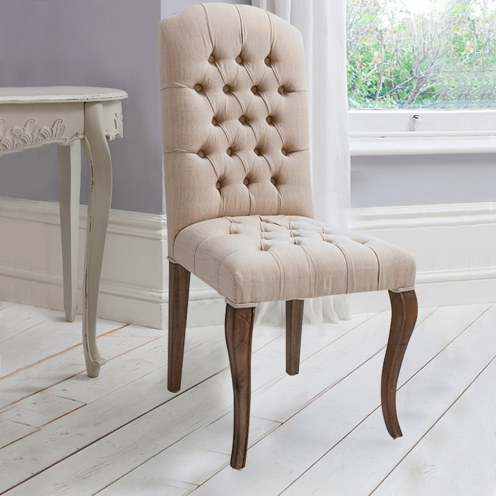Maison Button Chair Weathered Frame 5055299491256