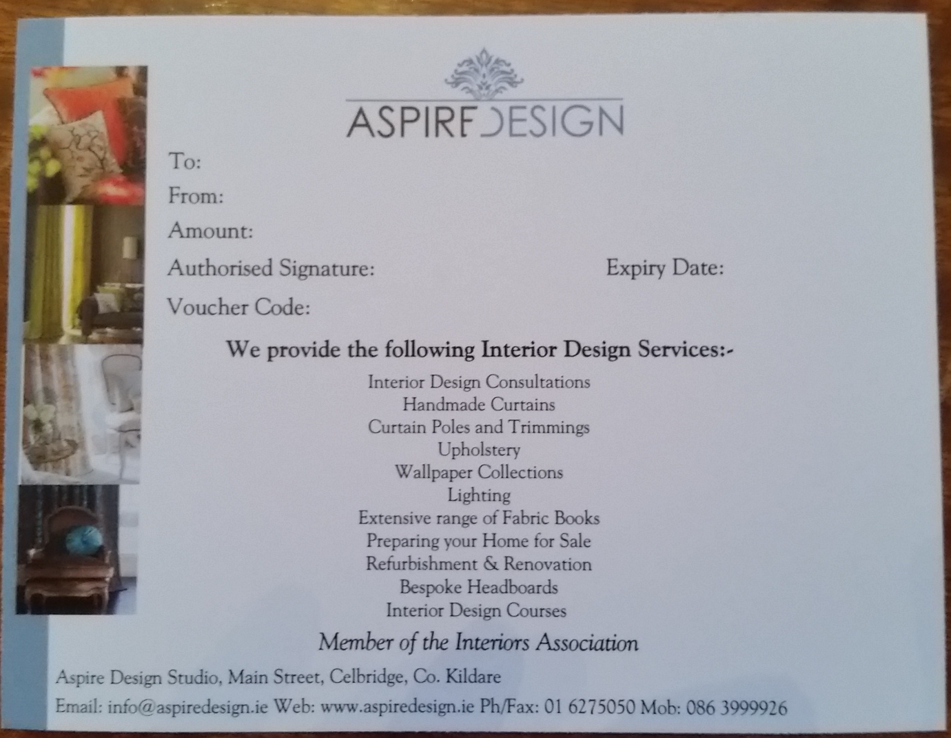 the full interior design consultation service aspire design