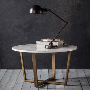 Cleo round coffee table from Aspire Design