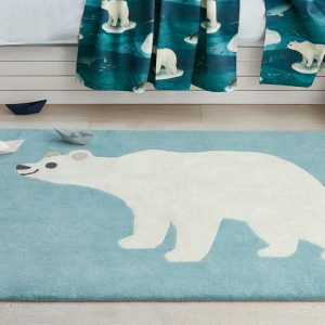 Arctic Bear Rug from Aspire Design