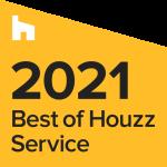 best of houzz service award 2021