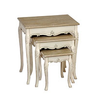country nest of 3 tables 7890