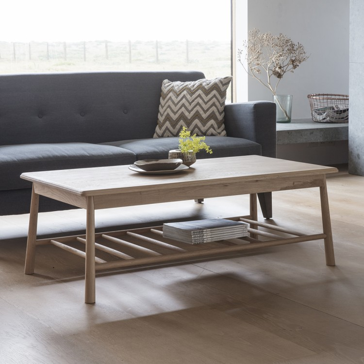 wycombe rectagule coffee table from Aspire Design